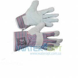 Перчатки комбинированные спилковые