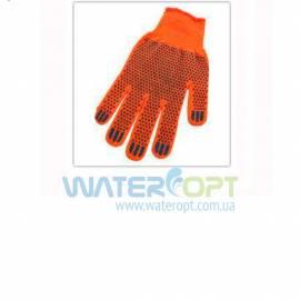 Защитные перчатки из толстого трикотажа  Х/Б 1 сорт