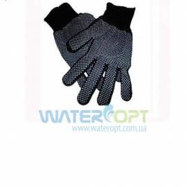 Защитные перчатки из нейлона Стрейч с точкой