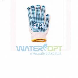 Защитные перчатки Капкан FAR с ПВХ точкой