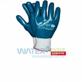 Защитные нейлоновые перчатки с нанесением нитрила Blutrix