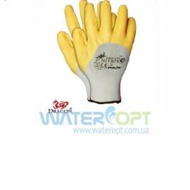 Нейлоновые перчатки Nitrix с нанесением нитрила