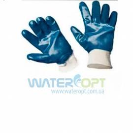 Защитные перчатки полный облив нитрилом МБС