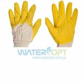 Защитные перчатки с латексным покрытием Желтое Стекло