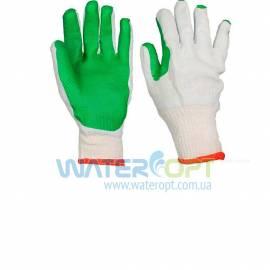Защитные перчатки каменщика зеленые