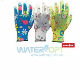 Защитные перчатки прорезиненные RGARDEN-NI MIX