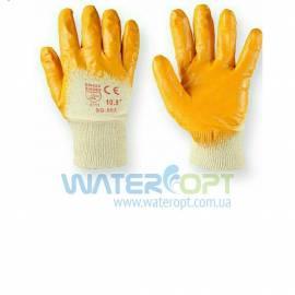 Защитные перчатки с нитриловым покрытием