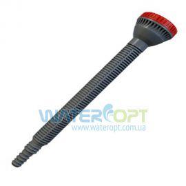Распылитель душ прямой с удлинителем 200 мм серый