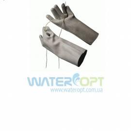 Перчатки диэлектрические резиновые  штанцованные