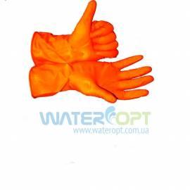 Перчатки хозяйственные латексные Алиско