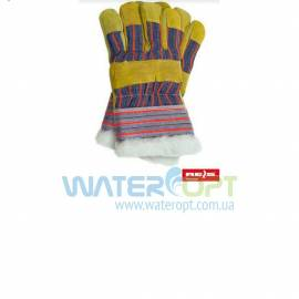 Перчатки спилковые утепленные RSO