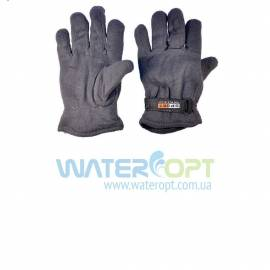 Шерстяные зимние перчатки Флис SPORT на липучке