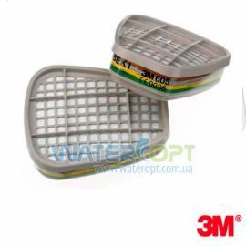 Угольный фильтр для респиратора 3M 6059 аммиак