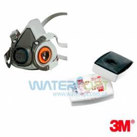 Респиратор полумаска 3M с фильтрами 6035