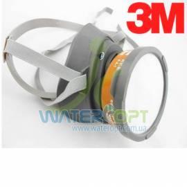 Респиратор 3М 3200 с угольным фильтром