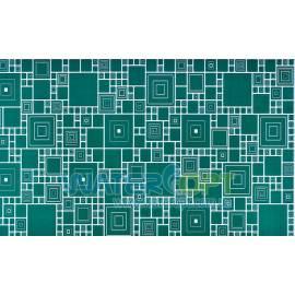 Листовые панели Мозаика Палитра изумруд