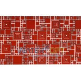 Листовые панели Мозаика Палитра кармин