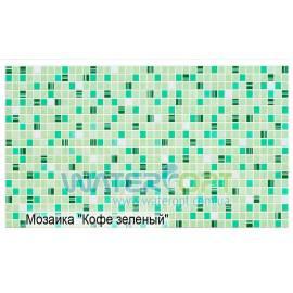 Листовые панели Мозаика Кофе зелёный