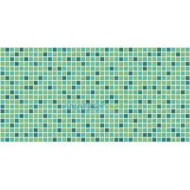 Листовая панель ПВХ Мозаика стандарт Бирюза