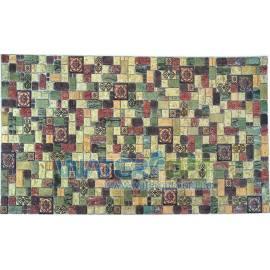 Листовые панели Мозаика Травертин лайм