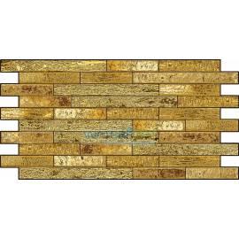 Листовая панель ПВХ Слитки золота