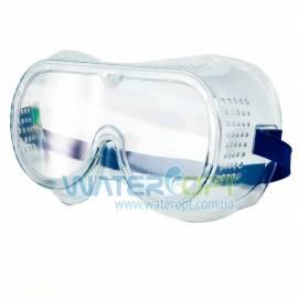 Закрытые силиконовые защитные очки