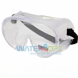 Закрытые силиконовые защитные очки для работы 7380