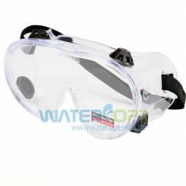 Закрытые силиконовые защитные очки 7381