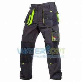 Рабочие брюки STEELUZ LIME защитные