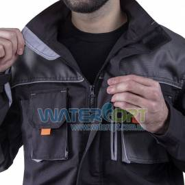 Рабочая куртка STEELUZ GREY защитная