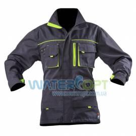 Рабочая куртка защитная STEELUZ LIME