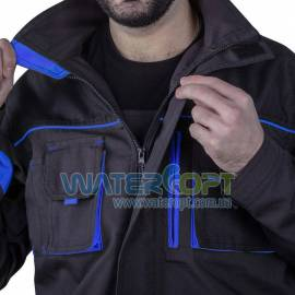 Рабочая куртка защитная STEELUZ BLUE