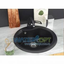 Мойка для кухни черная Betta RONDO