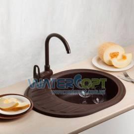 Мойка для кухни коричневая Betta AVALON