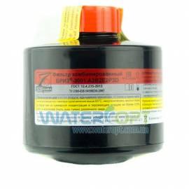 Фильтр комбинированный для противогаза  Бриз 3001- A2B2E2P3D