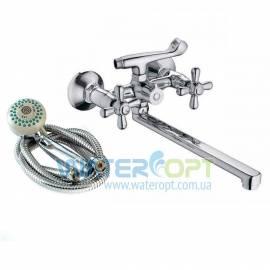 Смеситель для ванны с душем ЕвроПродукт Dominox 140 evro