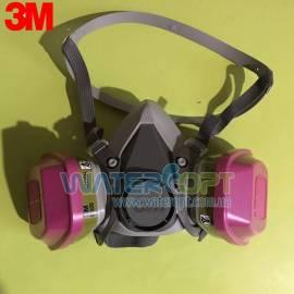 Респиратор полумаска 3M 6200 с фильтрами 60926