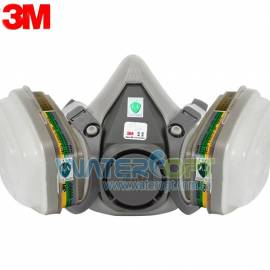 Респиратор полумаска комплект 3M 6200  фильтрами 6059 аммиак
