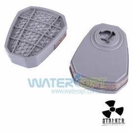 Угольный фильтр для респиратора Vita крепление байонет