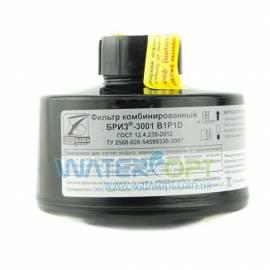 Фильтр для противогаза Бриз ДОТ 3001- В1P1D хлор
