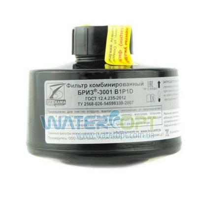 Фильтр для противогаза Бриз ДОТ 3001- В2P2D хлор