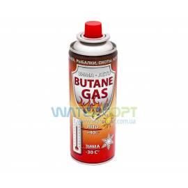 Газовый баллон 220г красный