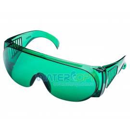 Очки защитные Озон Лазер зелёные