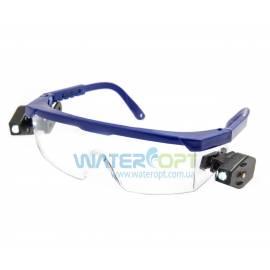 Очки защитные Комфорт LED Plus линза ПК прозрачная