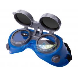 Очки сварщика линзы откидные круглые