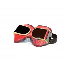 Очки сварщика ЗН8 Г-1 4 стекла в кожзаме