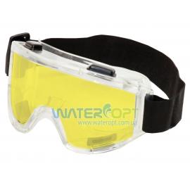 Закрытые очки защитные Vision Контраст линза жёлтая