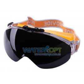 Закрытые защитные очки Provide линза не потеющая ПК стекло, антицарапина, плюс линза DIN6