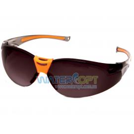 Открытые защитные очки Дельта тонированная линза ПК