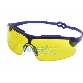 Открытые защитные очки Драйвер поворотные удлинённые дужки, линза ПК, не потеющая, антицарапина